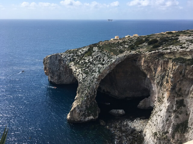 Málta Blue Grotto