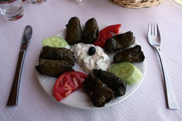 Görögországi utazás - Görög dolmades diéta alatt