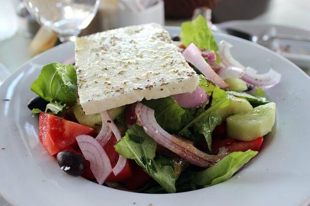 Zakynthosi utazás - Görög saláta diéta alatt