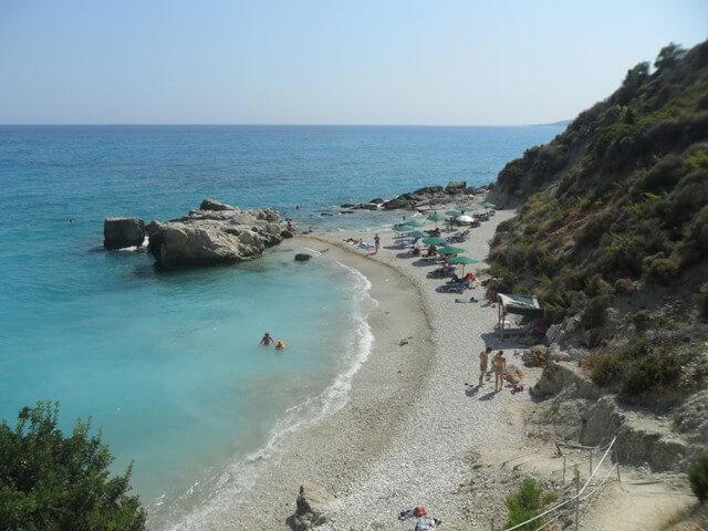 Zakynthos utazás - Xigia strand