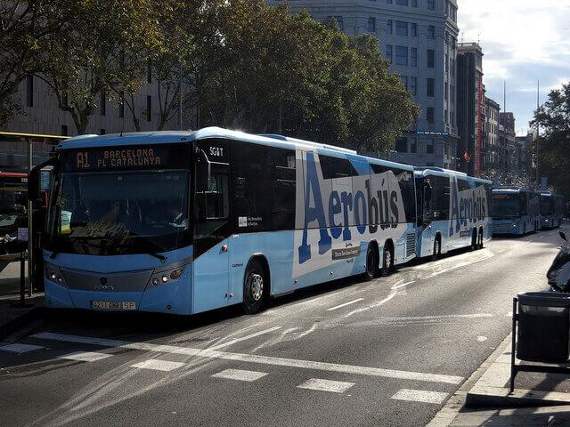 Aerobus-Barcelona transzfer