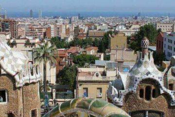 Barcelona látnivalók-Güell park