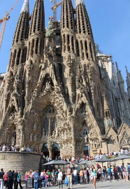 Barcelona látnivalók-Sagrada Família