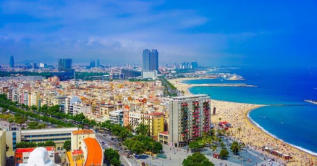 Barcelona tengerpart