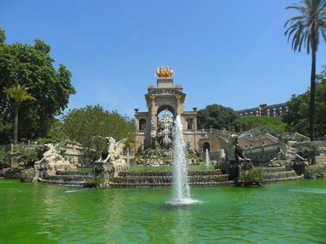 Ciutadella Park-Szökőkút