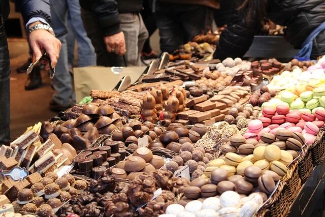La Boqeria Piac-Barcelona