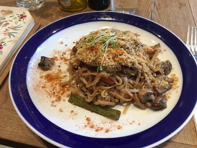 Növényi alapű spagetti rizstésztával