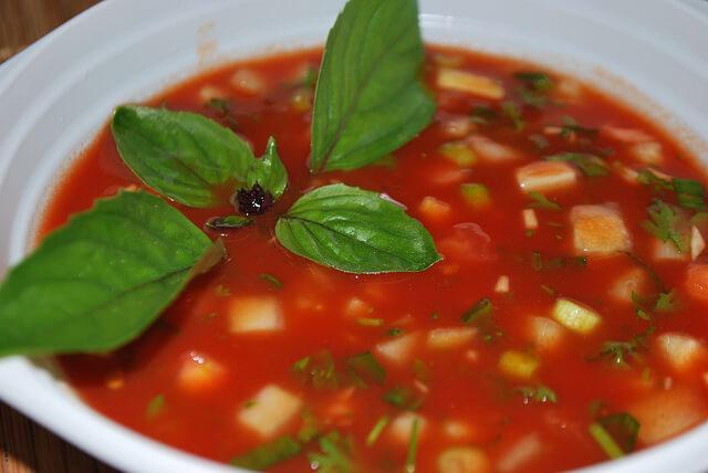 Gaspacho-spanyol ételek