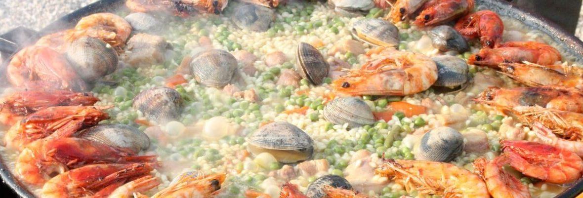Paella és speciális étkezés Spanyolországban
