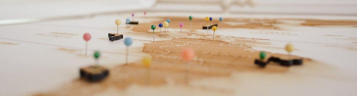 Diétabarát utazási térkép