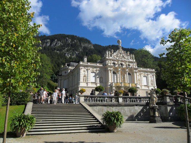 Linderhof kastély-Útban Neuschwanstein felé