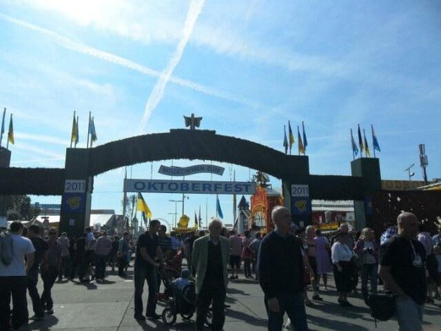 Oktoberfest bejárat