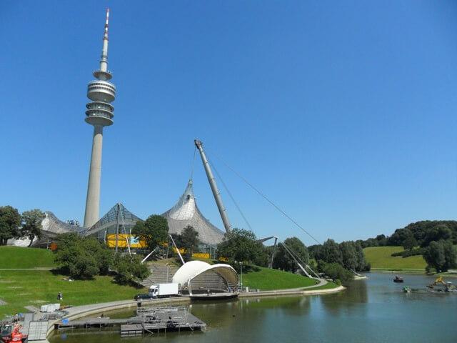 München látnivalók-Olympiapark és torony