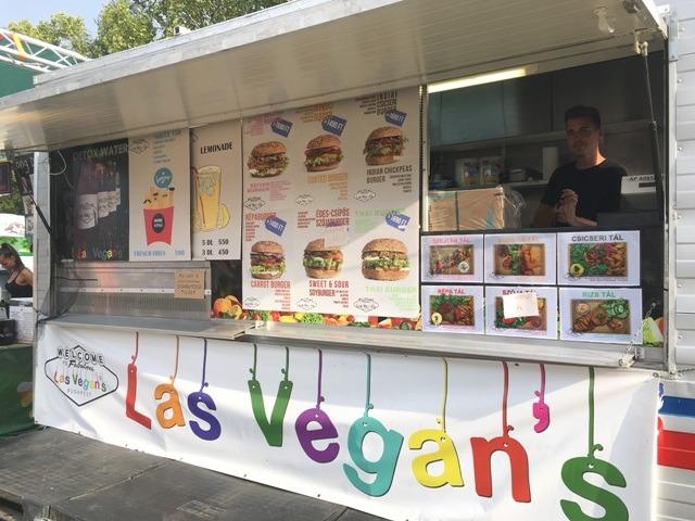 Las Vegan's egészséges street food