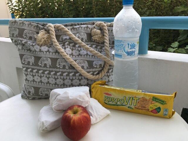 Diétás étel csomagolás kirándulásra, utazásra