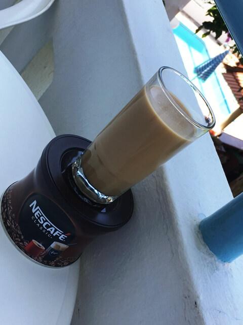Kávé főzés az apartmanban