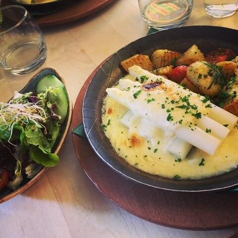Németország vegetáriánus étterem