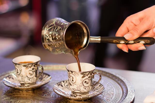 Görög kávé-vércukorszint és koffein