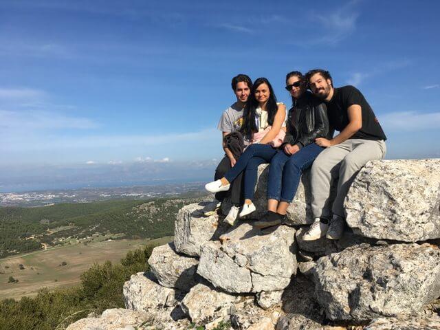 Kirándulás Görögországban egy görög családnál