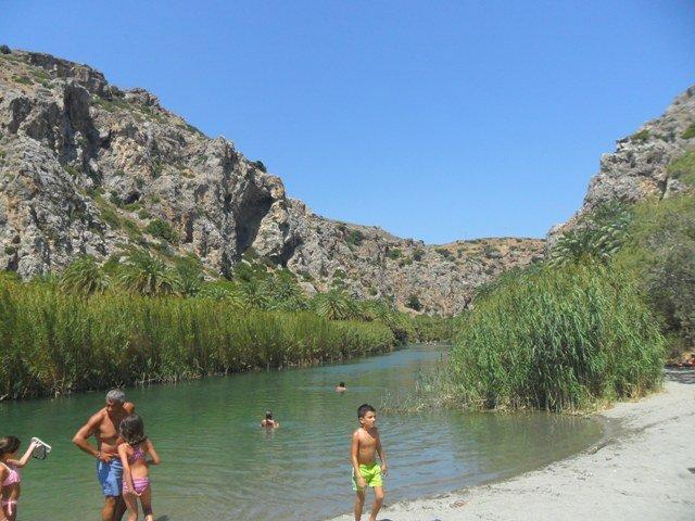 Dél-Kréta látnivaló-Preveli
