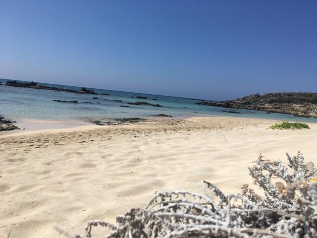Elafonissi strand-Nyugat-Kréta