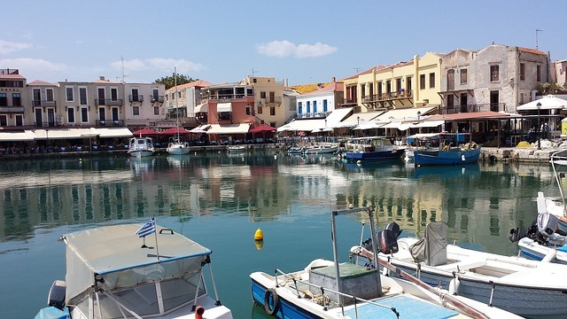 Rethymno kikötő-Old Port