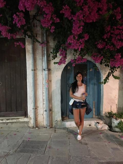 Rethymno szűk utcák