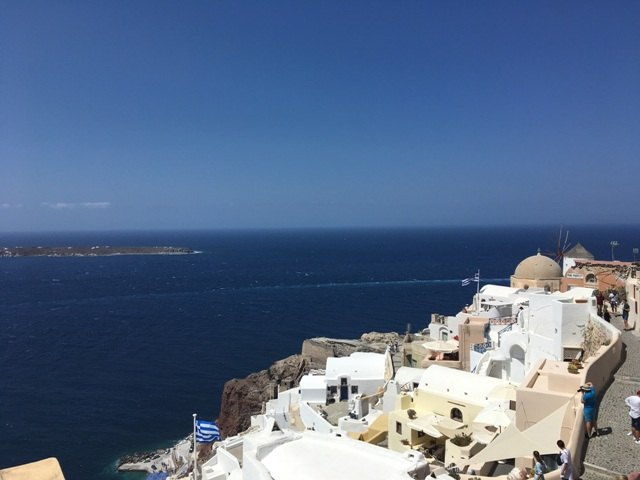 Santorini látnivalók-Oia