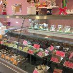 Cukormentes Cukrászda süteményespult