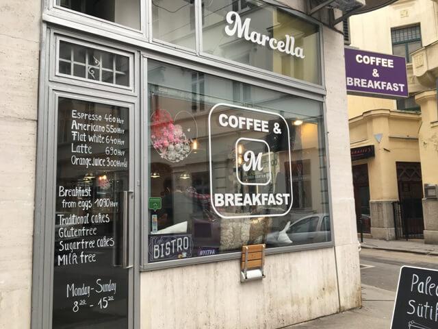 Marcella by yum-yum egészséges kávézó Budapest