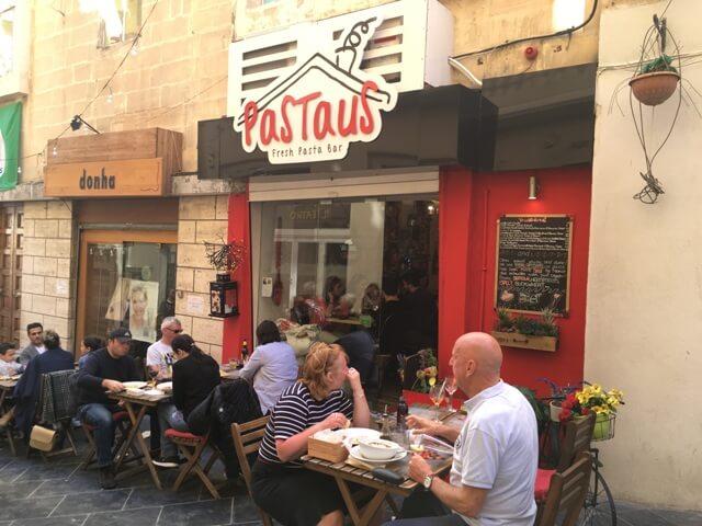 Pastaus Málta Valletta