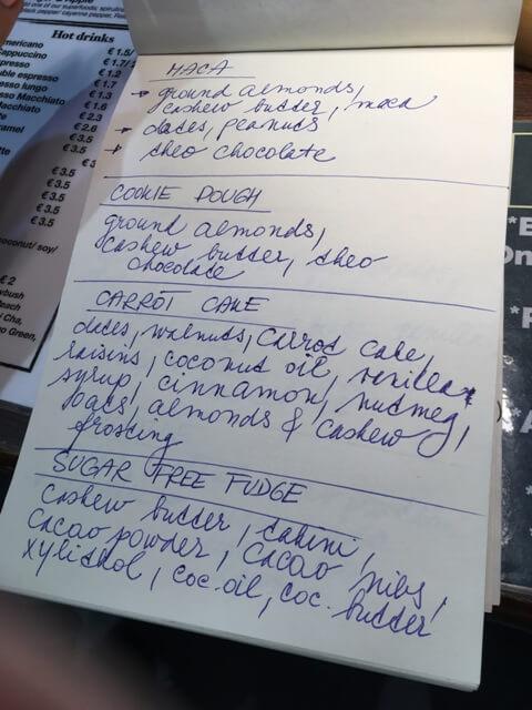 The Grassy Hopper összetevők listája