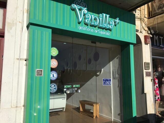 Vanilla Plus fagyizó Gozo