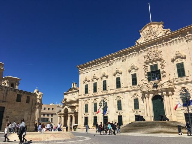 Auberge Castille Valletta