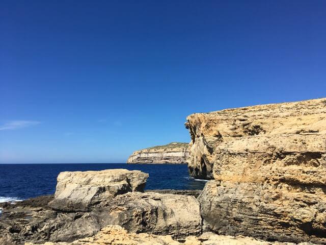 Azúr ablak Málta Gozo