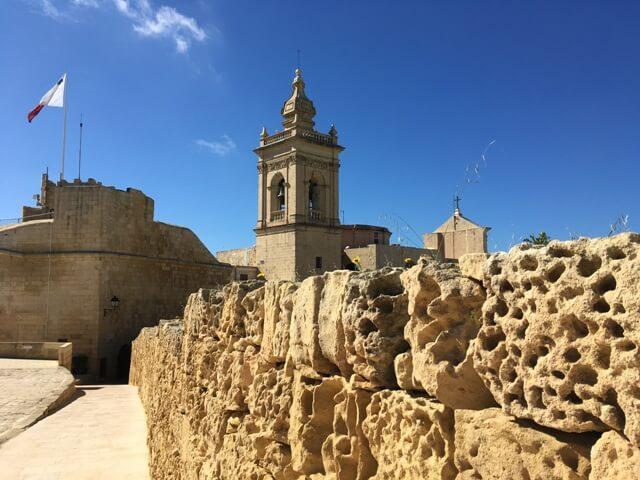 Citadella Rabat Székesegyház Gozo