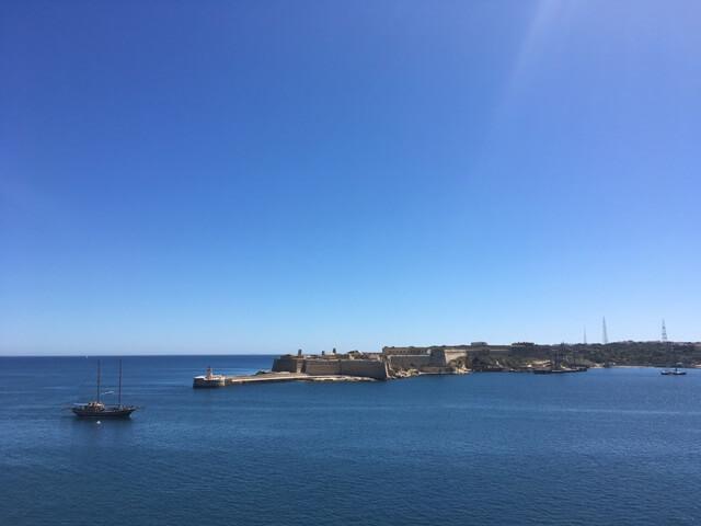 Fort Ricasoli Valletta kikötő