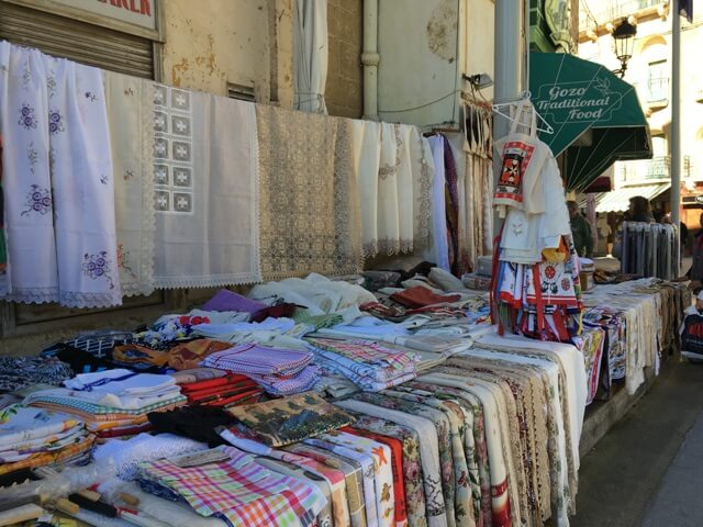 Gozo - Victoria piac