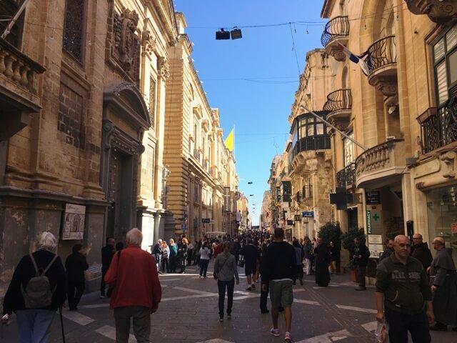 Málta látnivalók Valletta