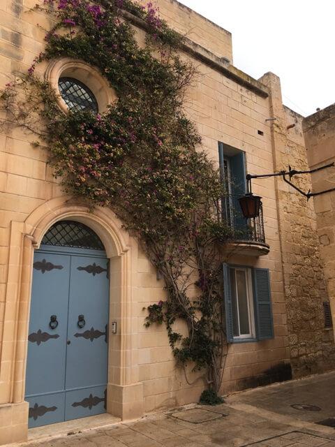 Málta-Mdina épületek