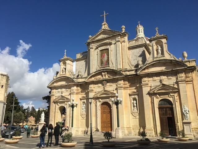 Málta Rabat Szent Pál templom