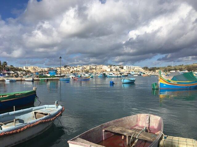 Málta útleírás Marsaxlokk