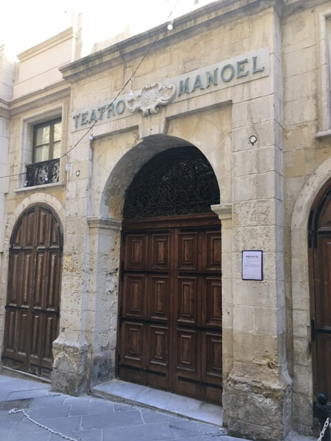 Manoel Theatre Valletta Málta
