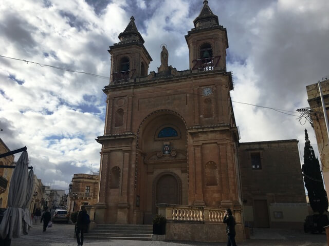 Marsaxlokk templom Málta látnivalók