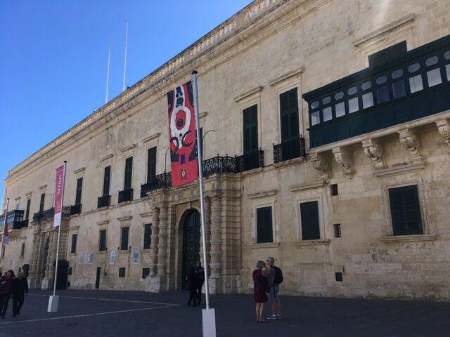 Nagymesterek Palotája - Valletta