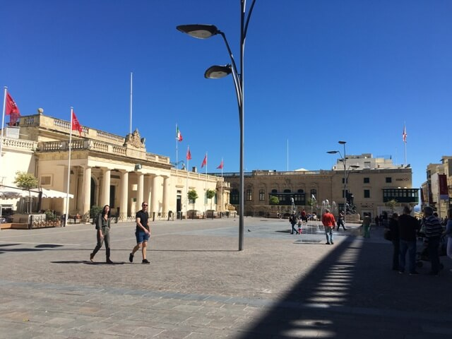St. Georgs square Valletta