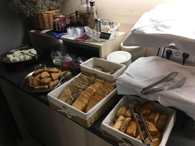 Ierapetra hotel reggeli