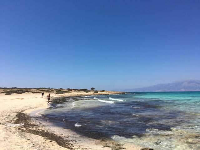 Kréta Chrissi Golden Beach