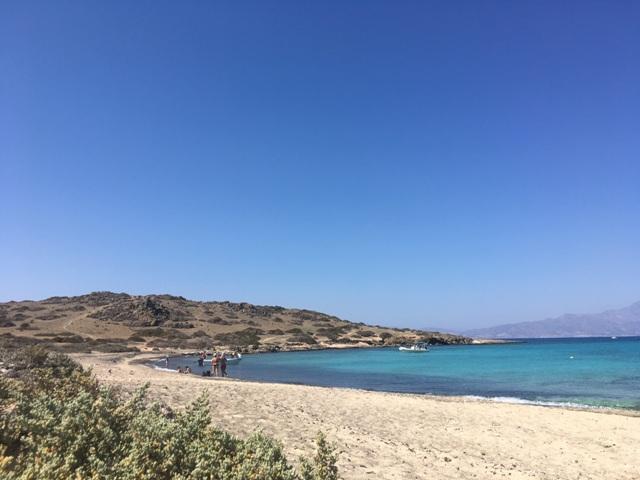 Kréta Chrissi strand