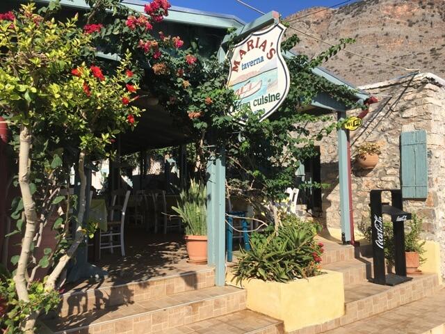 Kréta Plaka taverna